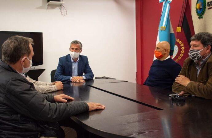 El Ministro Mario Peña recibió a Moreno