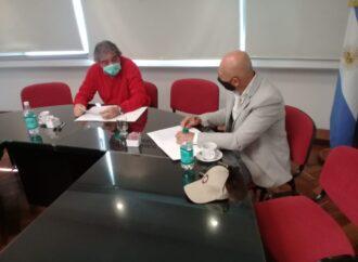La Secretaría de Deportes firmó un convenio con el Consejo Profesional de Ciencias Económicas para la asistencia a clubes