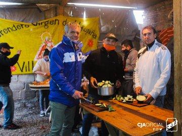Deportes y Juventud solidarios en Villa Juanita