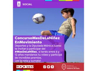 Concurso virtual Mes de la Niñez en Movimiento