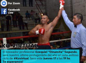 Un Campeón de la Vida se sube al ring para el KO Virtual