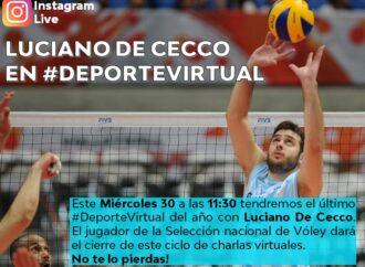 Deporte Virtual con Luciano De Cecco