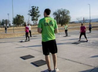 Clases virtuales de Gym en los Parques Urbanos