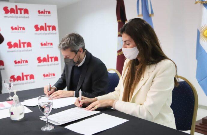 Bettina Romero y Matías Lammens acordaron implementar proyectos
