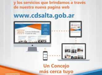 Para conocer más sobre la actividad legislativa y servicios que brinda el Concejo Deliberante de la ciudad de Salta ingresar a su sitio